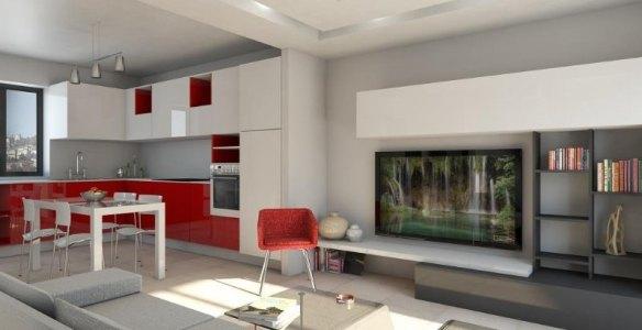 Render Appartamento Pizzo Calabro_Arch. Chilà