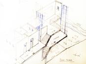 Casa unifamiliare moderna a mare in pietra_Scilla_archistudio lorè